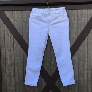 White Skinny Jeans by Jessica Simpson